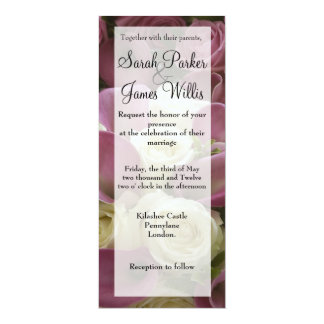 Tall calla lily invite