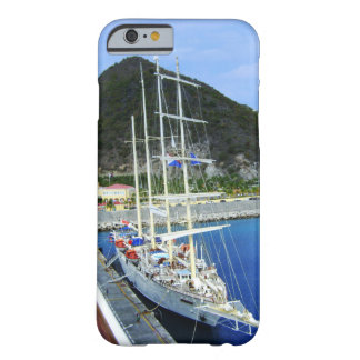 Tall Caribbean Ship Tied To The Pier Barely There iPhone 6 Case