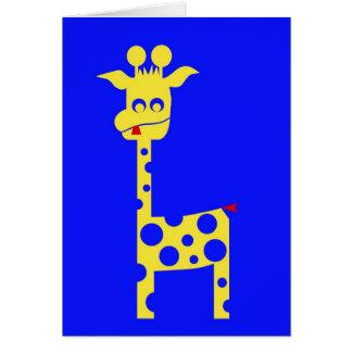 Tall Charlie Card