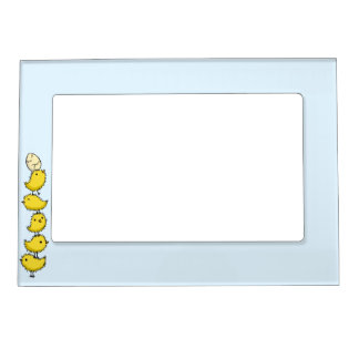Tall Chicks Magnetic Photo Frame