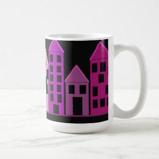 Tall Colorful Buildings Coffee Mug
