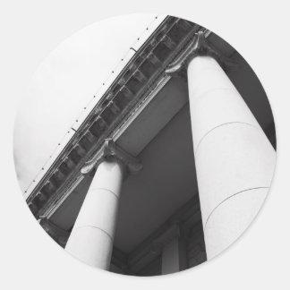 Tall Columns Sticker