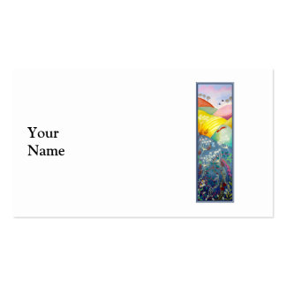 Tall Countryside Picture. Business Card