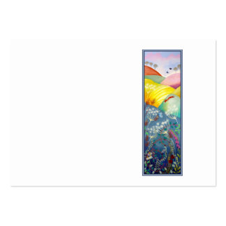 Tall Countryside Picture. Business Card Templates