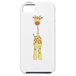 Tall Cute Giraffe. Cartoon Animal. iPhone 5 Cases
