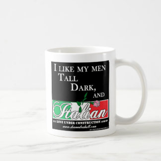 Tall, Dark, and Italian Mug