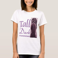 Tall Dark & Handsome -  Friesian Horse T-Shirt