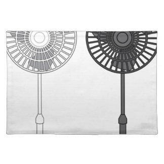 Tall Fan Cloth Placemat