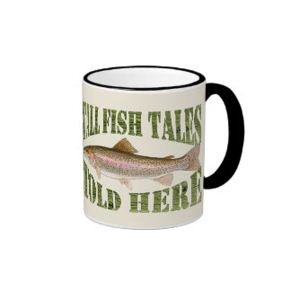 Tall Fish Tales Told Here Trout Mugs