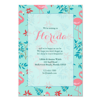 Tall Flamingos Invitations