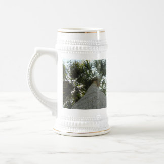Tall Florida Palm Coffee Mugs