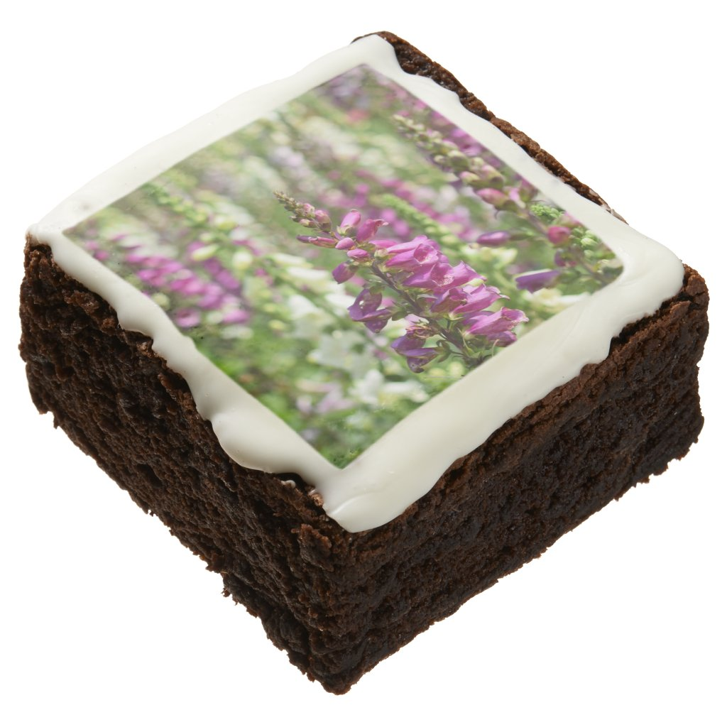 Tall Flowers Brownie