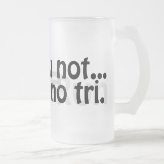 Tall Frosted Duathlon Mug