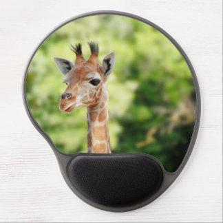 Tall Giraffe Gel Mouse Pad