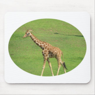 Tall Giraffe Mouse Pad