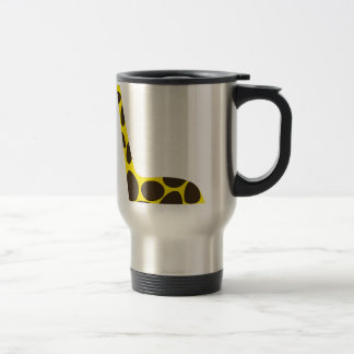 Tall Giraffe Travel Mug