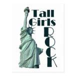 Tall Girls ROCK Postcard