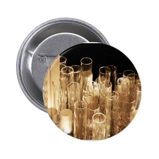 Tall Glass Lights 2 Inch Round Button