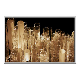 Tall Glass Lights Print