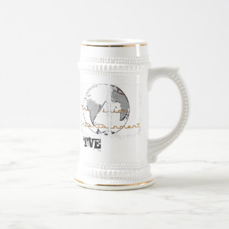 Tall Glass of TVE 18 Oz Beer Stein