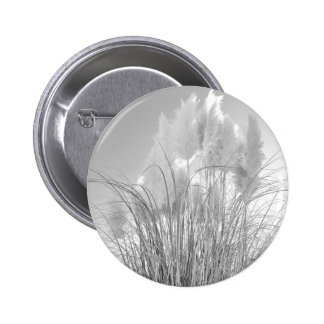Tall Grass and Hyacinths at Island Park, NY. Pinback Button