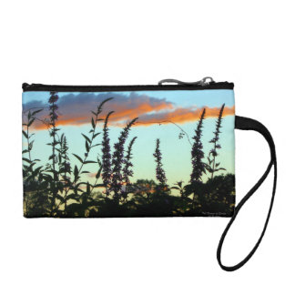 Tall Grasses at Sunset Purse