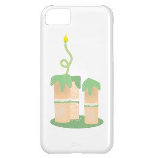 Tall green Birthday cake iPhone 5C Case