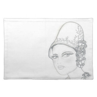 TALL HAT FLAPPER PLACEMAT