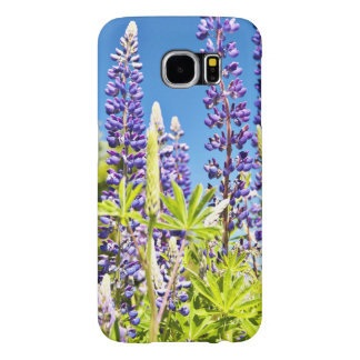 Tall Lupines In Field Samsung Galaxy S6 Case
