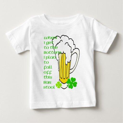 Tall Mug Fall off the Stool Baby T-Shirt