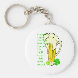 Tall Mug Fall off the Stool Keychain