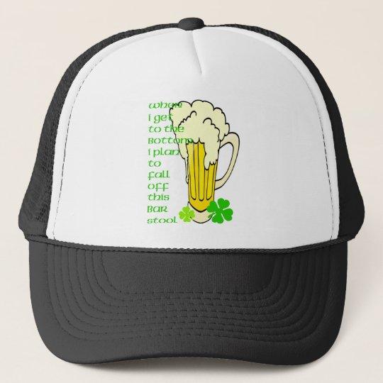 Tall Mug Fall off the Stool Trucker Hat