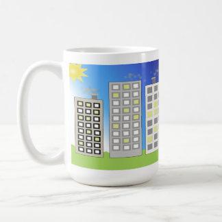 Tall Office Buildings Coffee Mug
