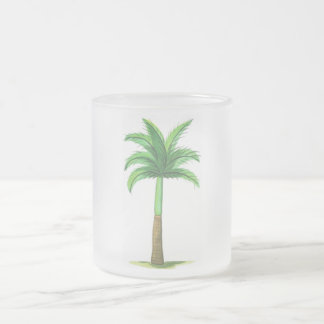 Tall Palm Frosted Mug