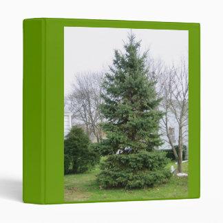 Tall Pine Tree 3 Ring Binder