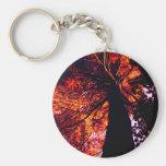 tall pine tree keychain