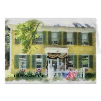 Tall-Pines-July-2010_1_DAP_Watercolor, Tall Pin... Greeting Card