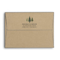Tall Pines Kraft Envelope