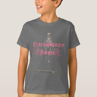 Tall pink skeleton T-Shirt