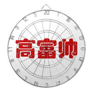 Tall, Rich & Handsome 高富帅 Chinese Hanzi MEME Dart Board