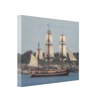 Tall ship 12 canvas print
