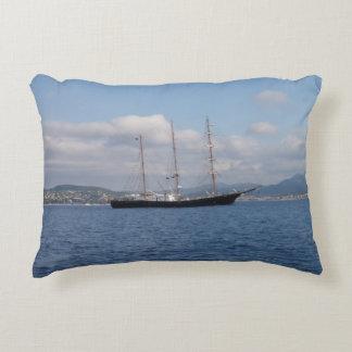Tall Ship Accent Pillow