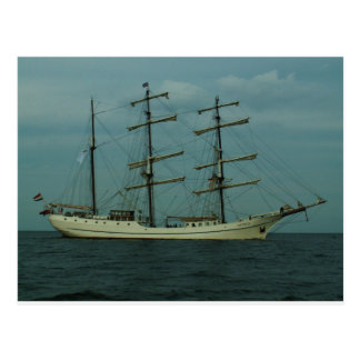 Tall Ship Artemis Postcard