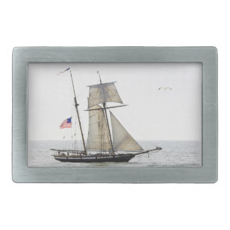Tall Ship beltbuckle rectangular Rectangular Belt Buckle