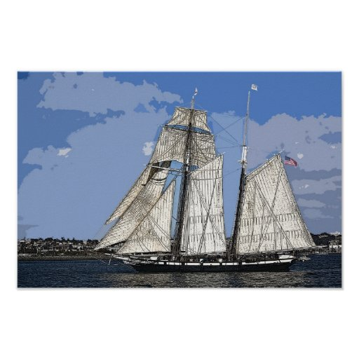 Tall Ship Californian Posters