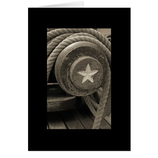 Tall Ship Cannon Stationery Note Card
