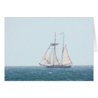 Tall Ship Card