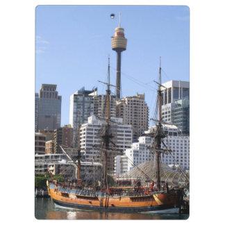 Tall Ship Clipboard