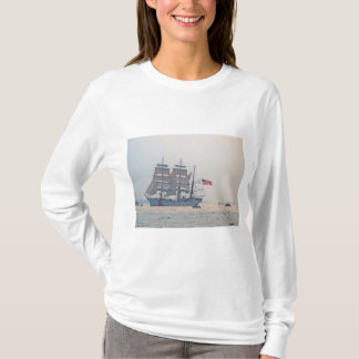 Tall Ship, Clipper ship, Sail, U.S. Coast Guard T-Shirt