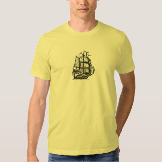 Tall ship cool t-shirt design